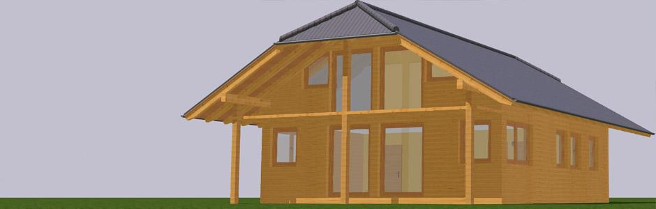 Sonnwiesen Karnten Panorama3d Holz Modulhaus